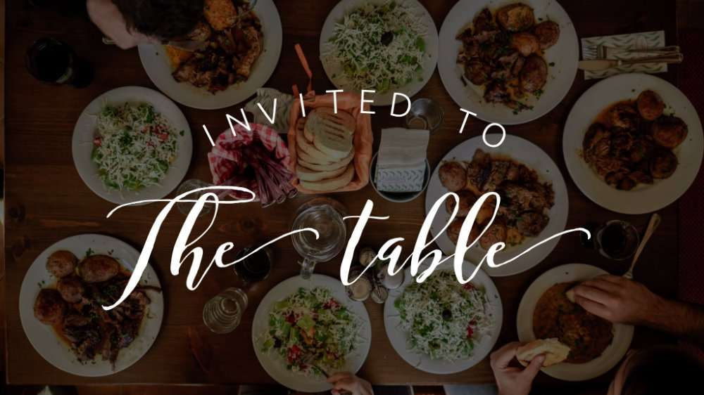 Invited To The Table Image